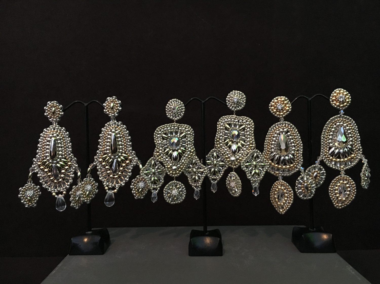 Ohrringe Silber | Naturjuwelen und Stoffträume