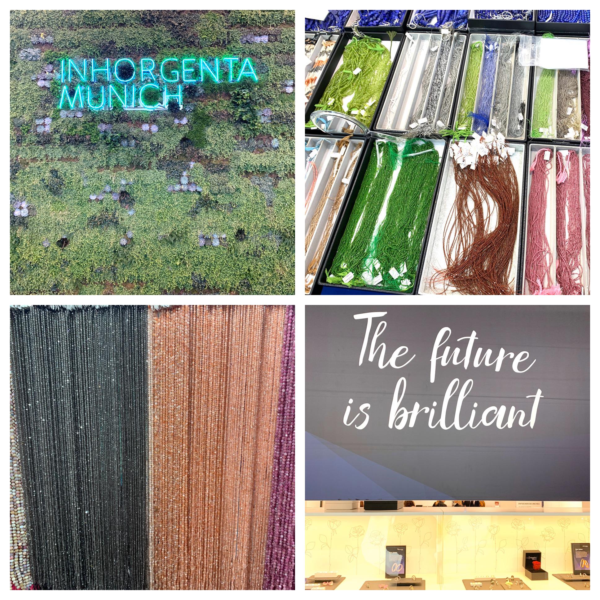 Inhorgenta München | Naturjuwelen und Stoffträume